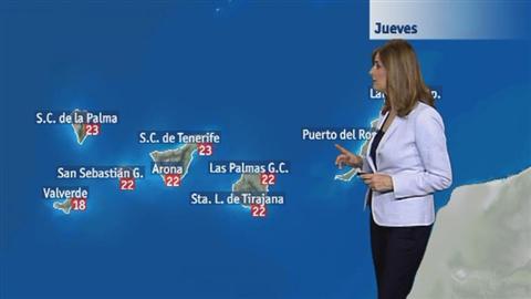 El tiempo en Canarias - 12/04/2018
