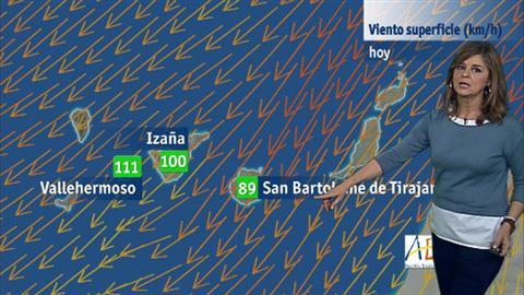 El tiempo en Canarias - 12/12/2017