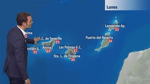 El tiempo en Canarias - 14/05/2018