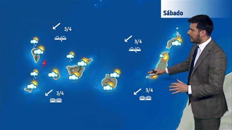 El tiempo en Canarias - 18/11/2017