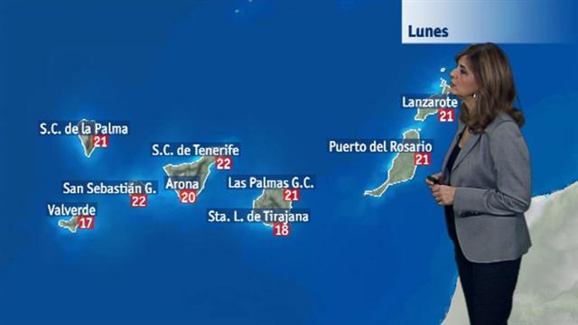 El tiempo en Canarias - 18/12/2017