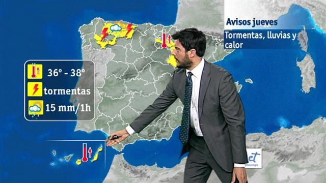 El tiempo en Canarias  - 22/06/2016