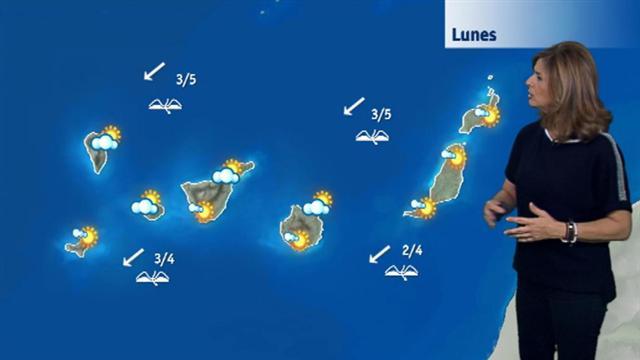El tiempo en Canarias - 23/10/2017