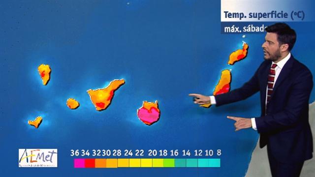 El tiempo en Canarias - 24/06/2017