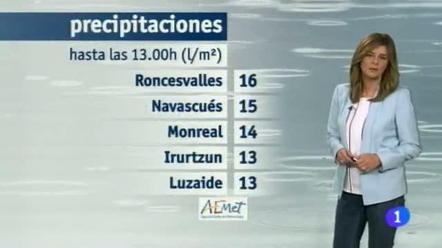 El Tiempo en la Comunidad de Navarra - 04/11/2014