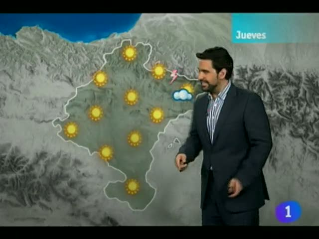 El Tiempo en la Comunidad de Navarra - 08/08/12