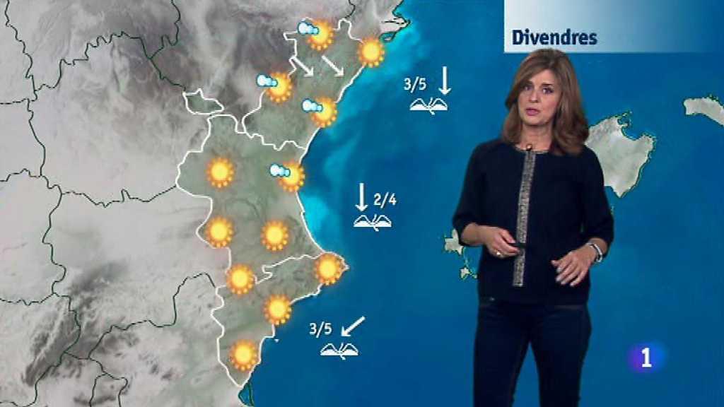 El tiempo en la Comunidad Valenciana - 09/11/17