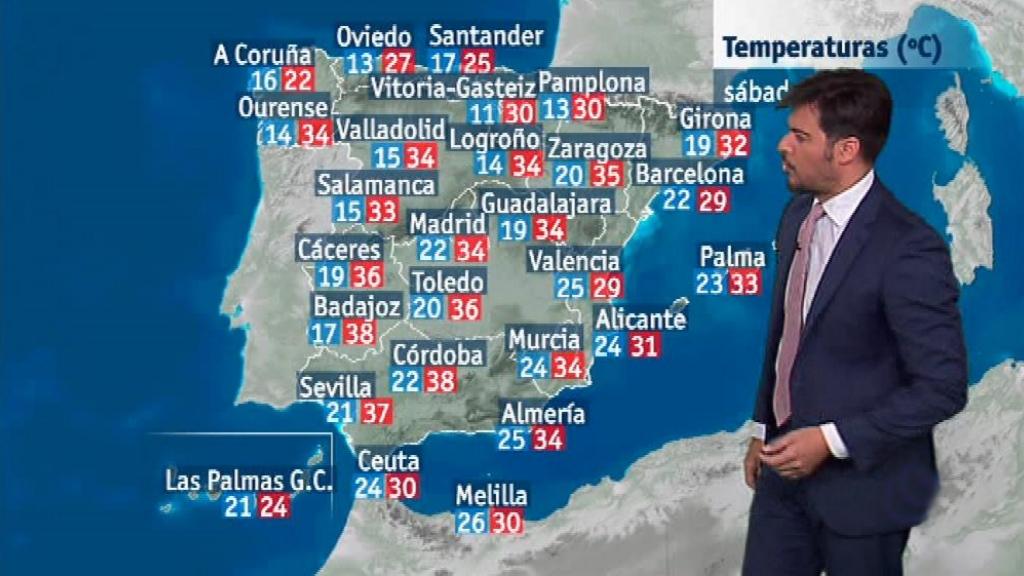 El tiempo en la Comunidad Valenciana - 10/08/18