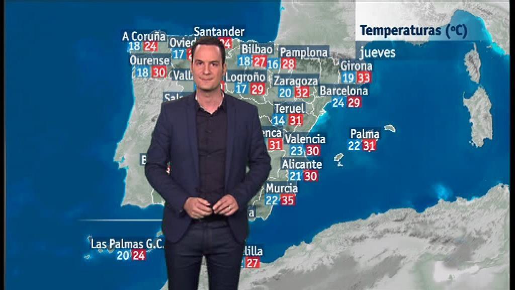 El tiempo en la Comunidad Valenciana - 11/07/18