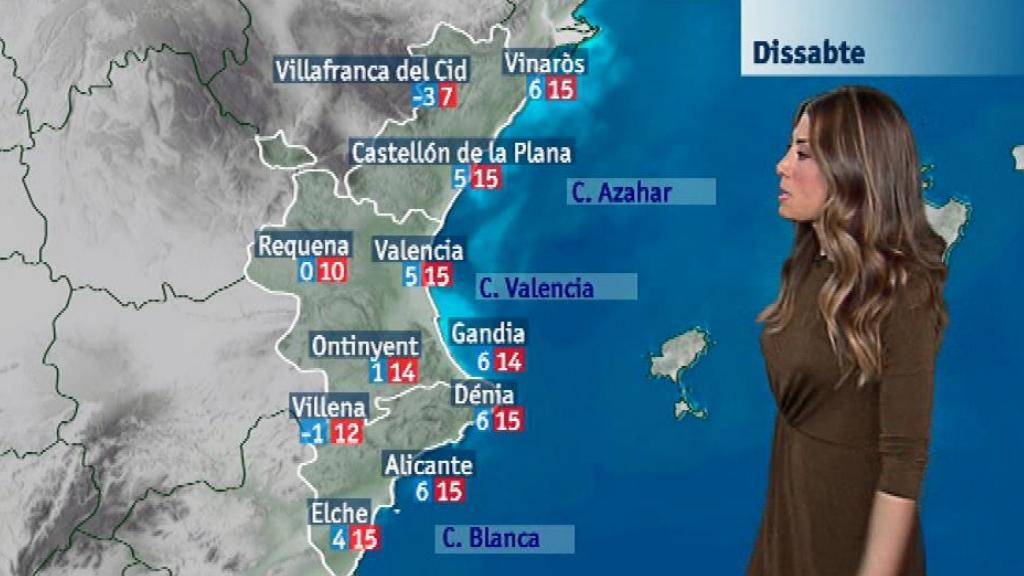El tiempo en la Comunidad Valenciana - 12/01/18