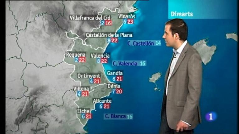 El tiempo en la Comunidad Valenciana - 12/03/12
