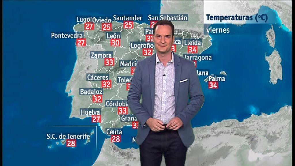 El tiempo en la Comunidad Valenciana - 12/07/18