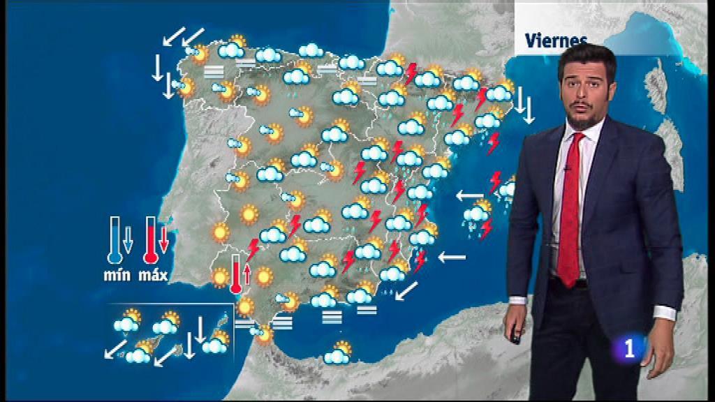 El tiempo en la Comunidad Valenciana - 16/08/18