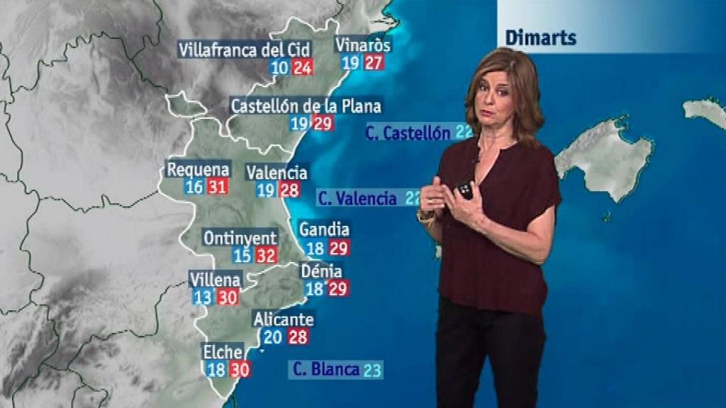 El tiempo en la Comunidad Valenciana - 18/06/18