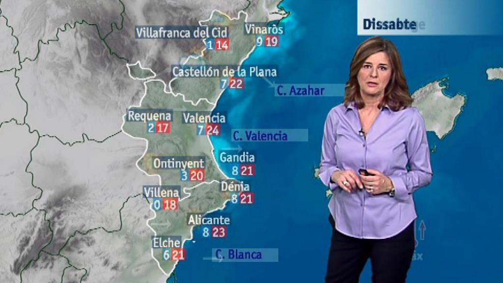 El tiempo en la Comunidad Valenciana - 19/01/18