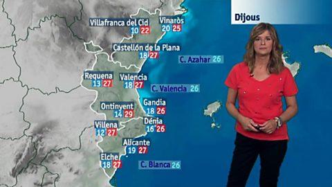 El tiempo en la Comunidad Valenciana - 20/09/17