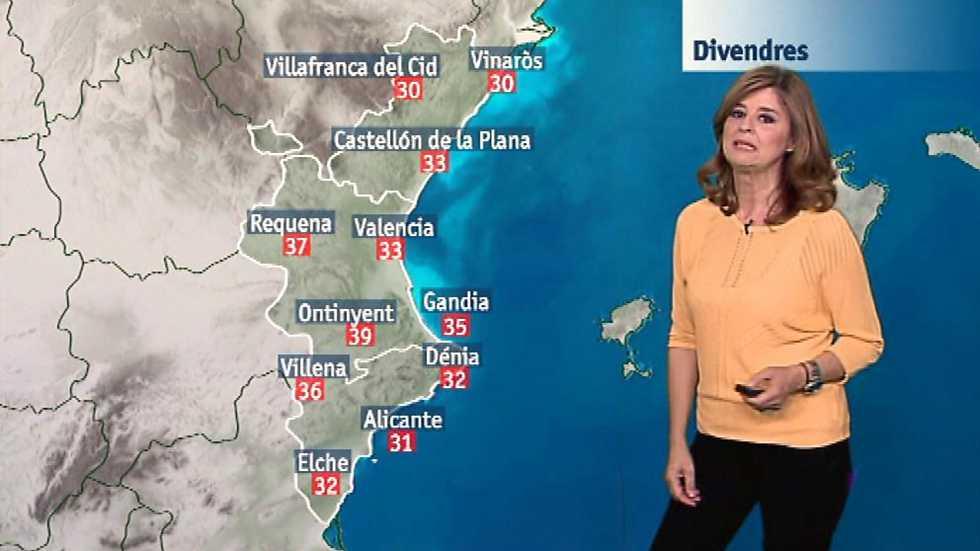 El tiempo en la Comunidad Valenciana - 23/06/17