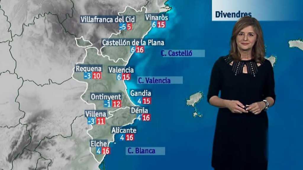 El tiempo en la Comunidad Valenciana - 30/11/17