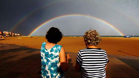Crónicas - El tiempo del arco iris