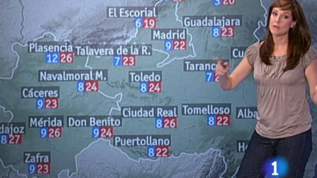 Altas presiones y tiempo estable en la Península Ibérica