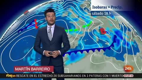Tiempo estable y sin precipitaciones en casi toda la Península