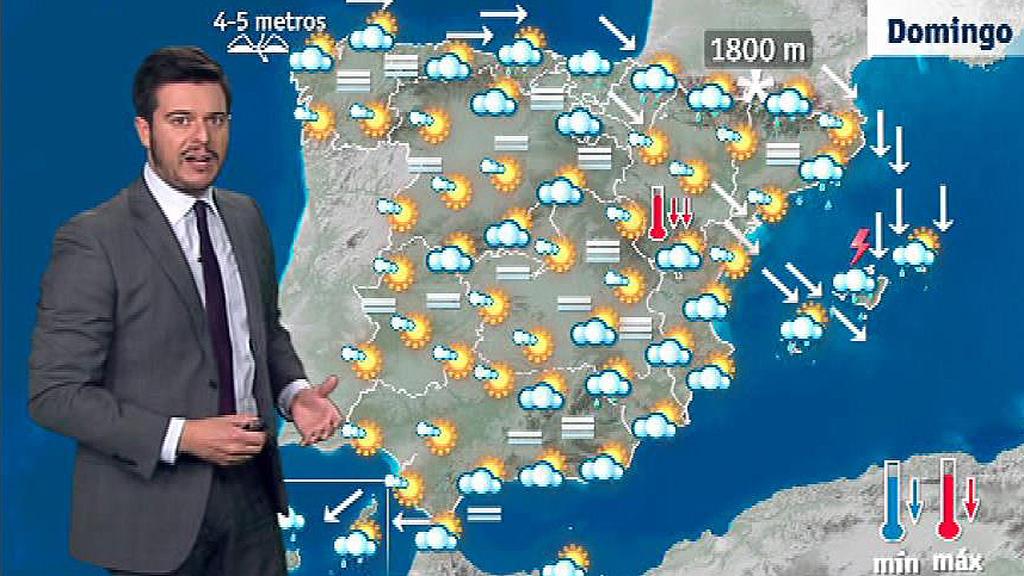 Tiempo estable en todo el país, salvo en el litoral este y Canarias