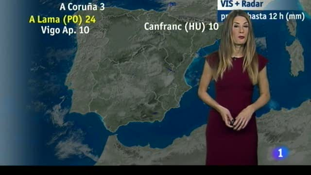 El tiempo en Extremadura - 03/01/18