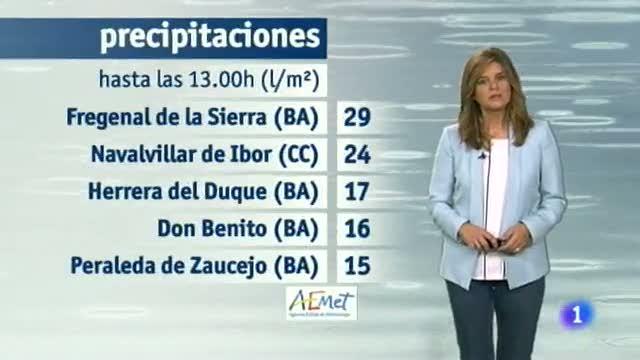 El tiempo en Extremadura - 04/11/14