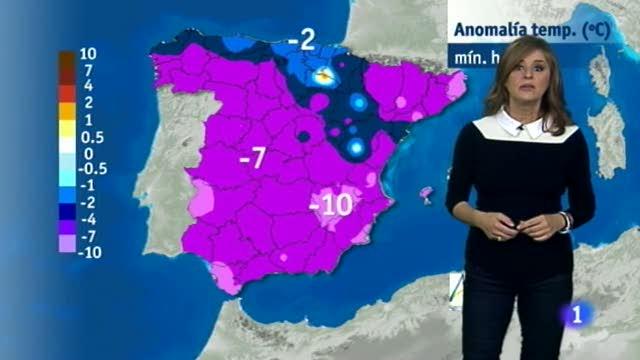 El tiempo en Extremadura - 04/12/17