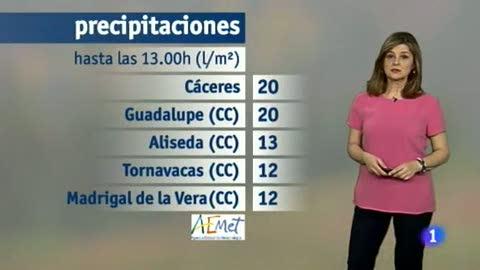 El tiempo en Extremadura - 05/03/18