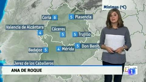 El tiempo en Extremadura - 07/11/17