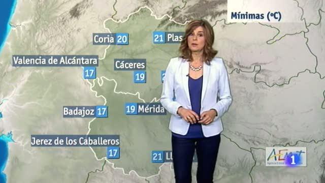 El tiempo en Extremadura - 08/06/17