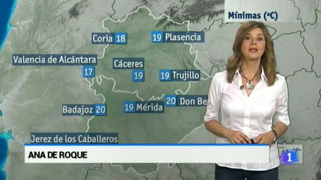 El Tiempo en Extremadura - 09/06/16