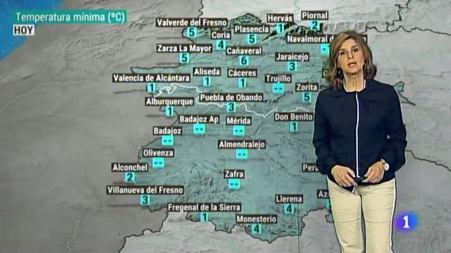 El tiempo en Extremadura - 10/01/19