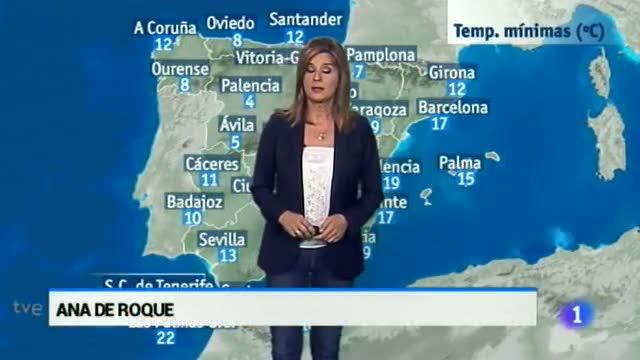 El tiempo en Extremadura - 10/10/16