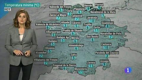 El Tiempo en Extremadura - 10/12/18