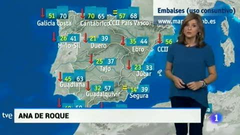 El Tiempo en Extremadura - 11/10/17