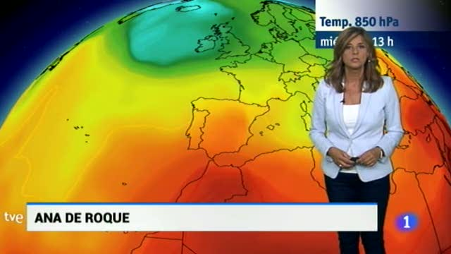 El Tiempo en Extremadura - 13/09/17