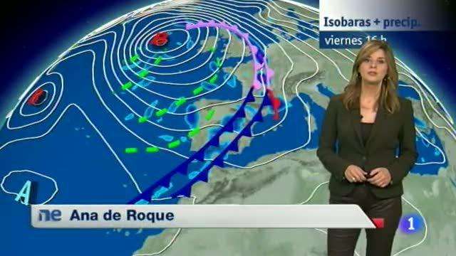 El tiempo en Extremadura - 14/11/14