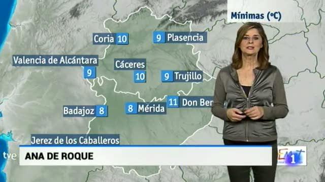 El tiempo en Extremadura - 15/02/18