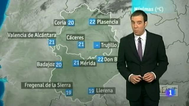 El tiempo en Extremadura - 24/07/12