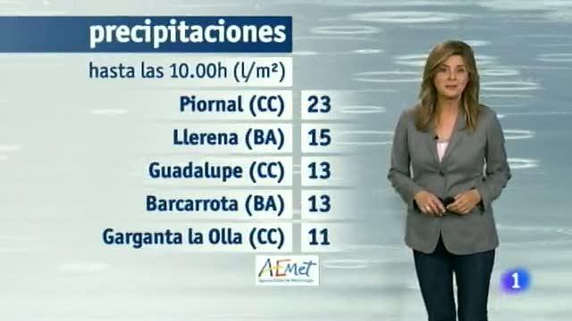 El tiempo en Extremadura - 27/11/14