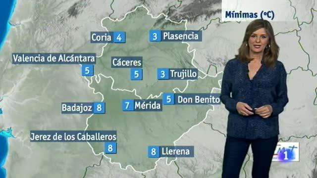 El tiempo en Extremadura - 27/11/17