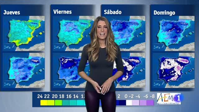 El tiempo en Galicia - 04/01/18