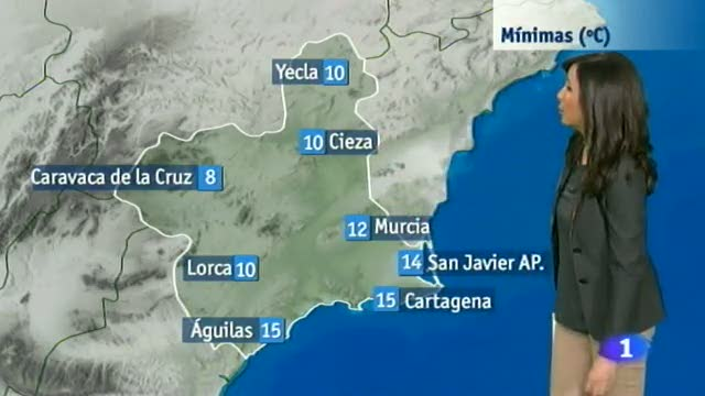El tiempo en la Región de Murcia - 24/11/2014
