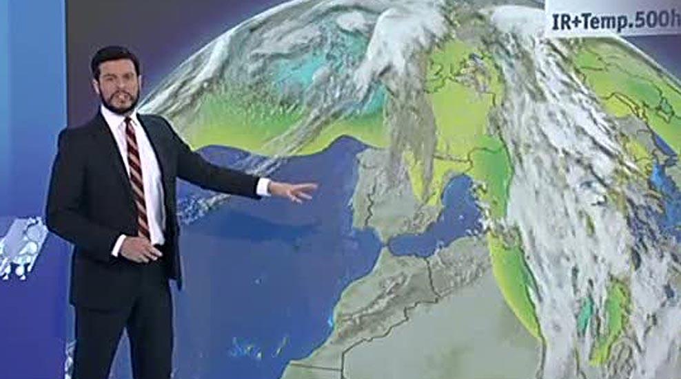 Intervalos de viento fuerte en el Cantábrico y precipitaciones intermitentes en la mayor parte de la Península