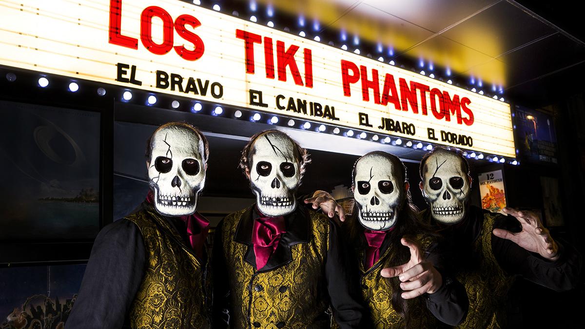 Los Tiki Phantoms - Locos sobre ruedas