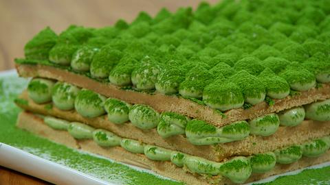 Torres en la cocina - Tiramisú de té verde