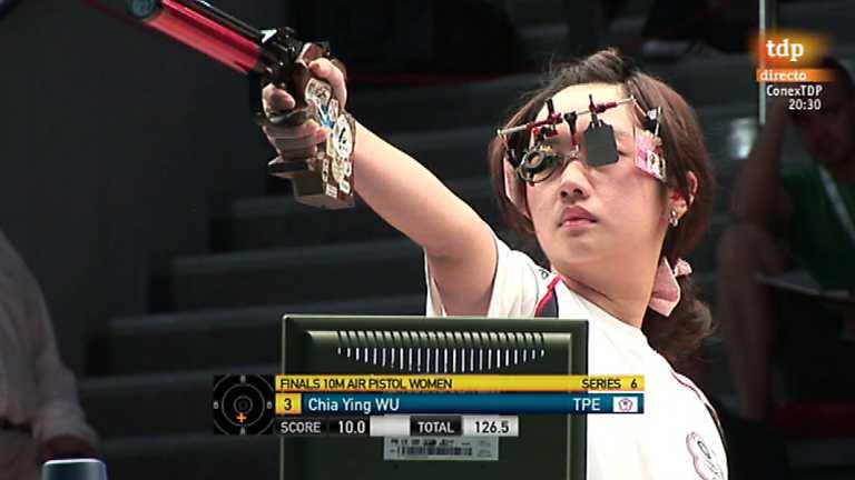 Tiro olímpico - Campeonato del Mundo. Final pistola aire femenina