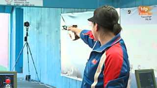 Tiro olímpico - Campeonato del Mundo. Final pistola deportiva femenina